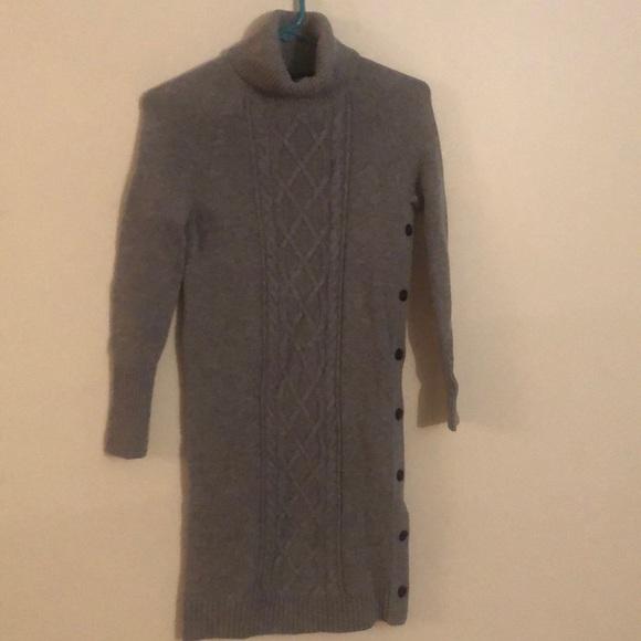 I.CREW turtle neck knit sweater dress